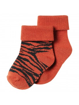 Noppies Socks 2-pack Blanquillo Spicy Ginger